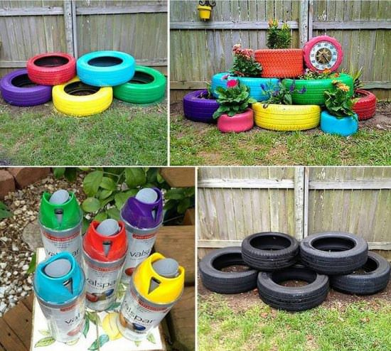 Best out of waste from tyre
