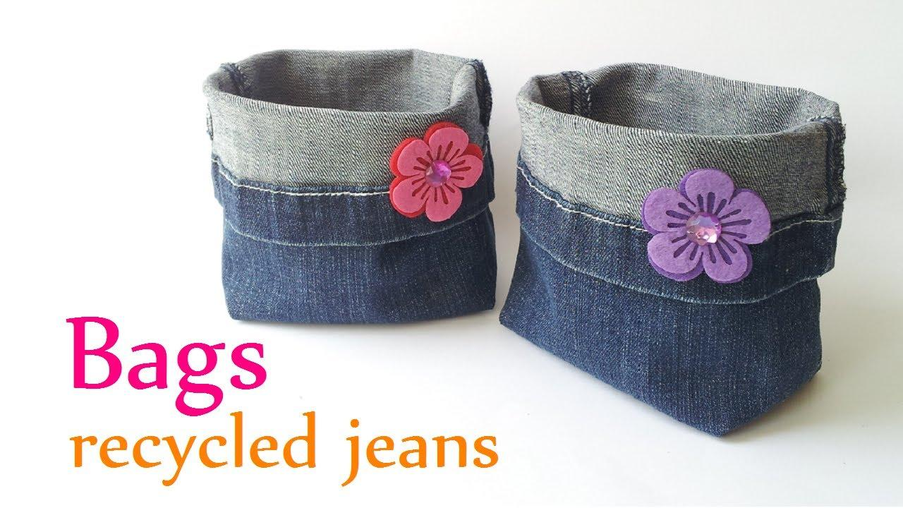 best of waste jeans DIY Ideas picture