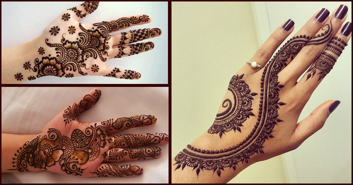 easy and simple mehndi design