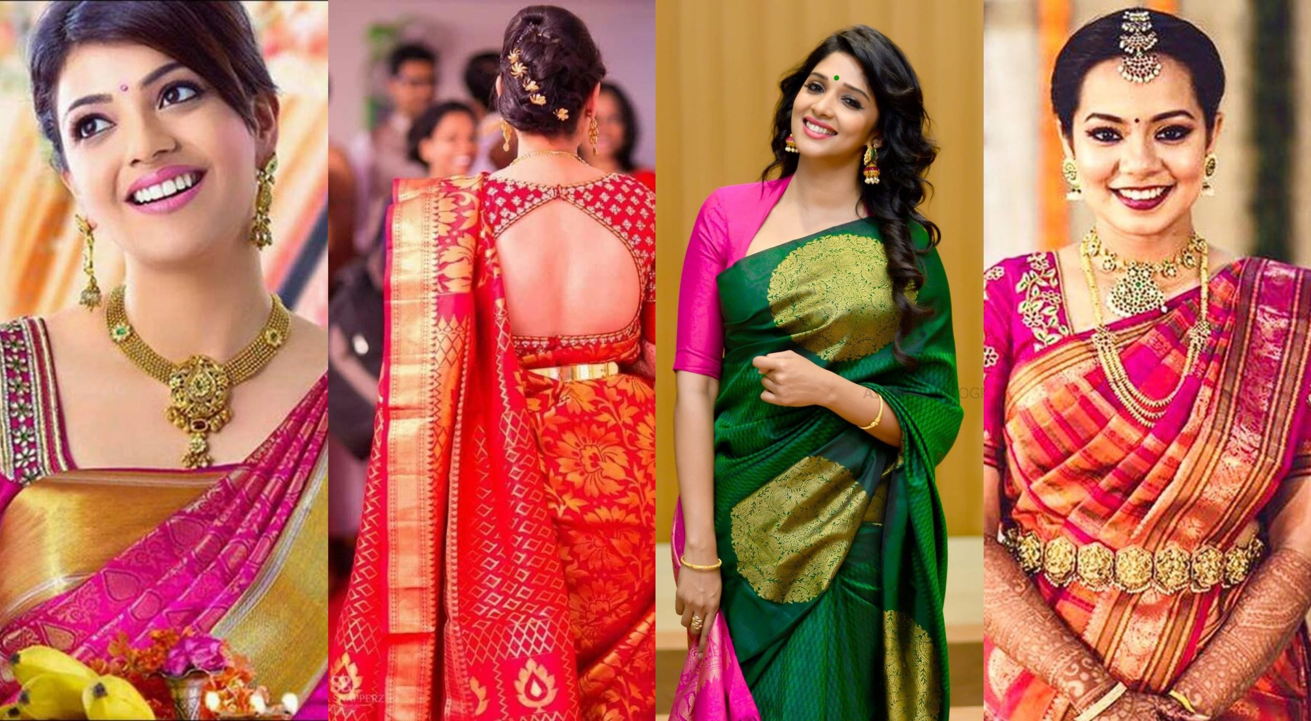 Blouse designs for silk sarees