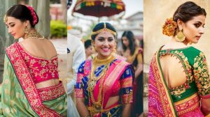 15 Best Pattu Saree Blouse Designs