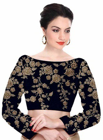 Best Blouse Designs for Silk Sarees